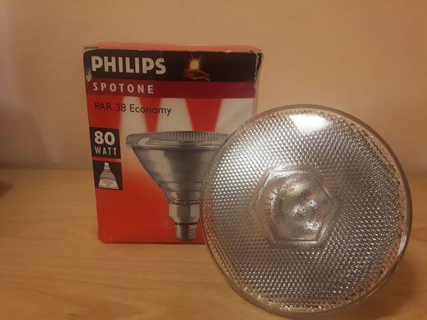 Spot 80W/ 230V/ E27/ 30 ° , PAR 38 Philips , pentru exterior