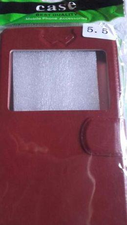 Husa smartphone tip flip cover, pentru 5,5 inch