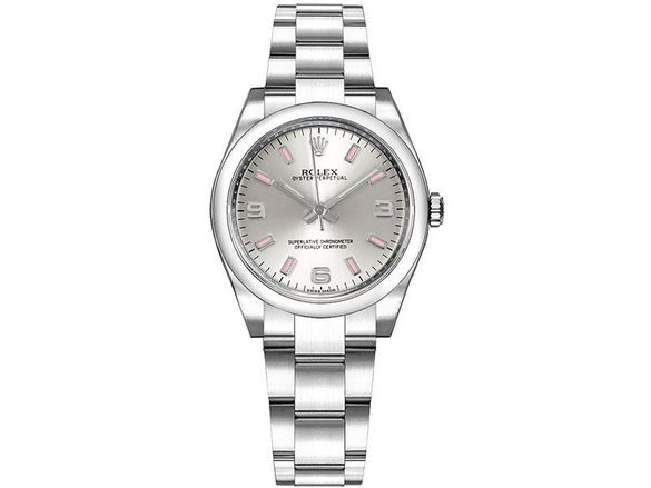 Часовник Rolex Oyster Perpetual Silver Dial