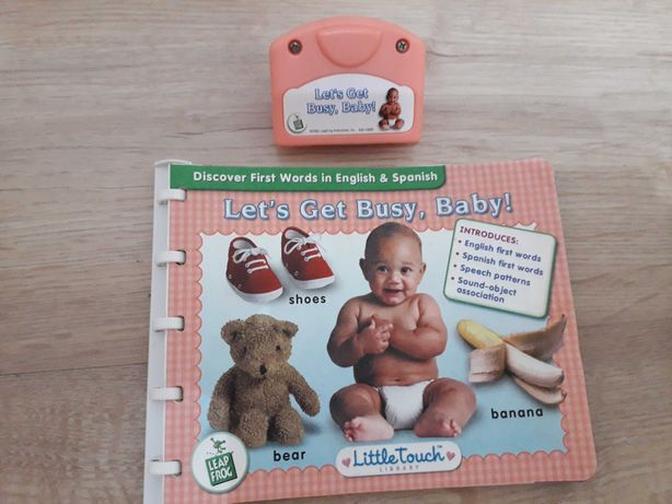 carte Leapfrog Little Touch Let's get Bussy, Baby