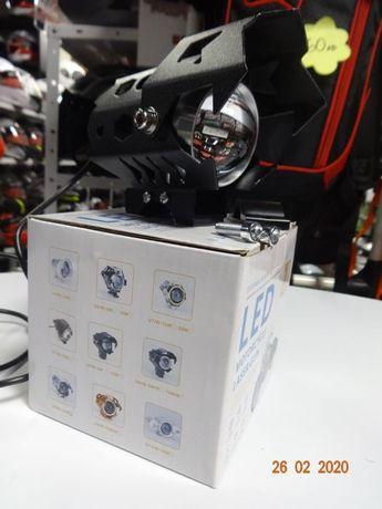 Led халоген диоден фар за мотор мото нов