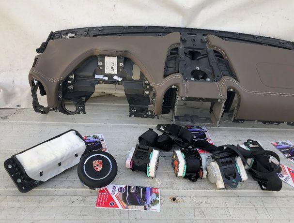 Porsche Cayenne 7p Panamera kit airbag set centuri plansa bord volan