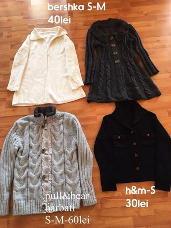 cardigan-pulovere,bershka,pull&bear,hm