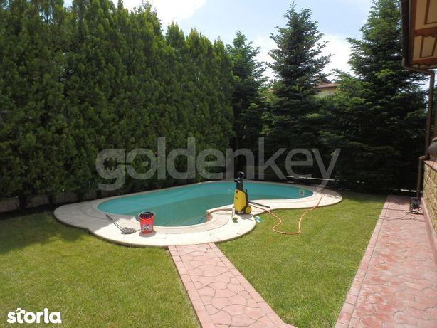 Vilă individuala eleganta cu 4 dormitoare si piscina exterioara