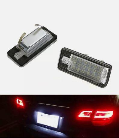 Set Lampi Led Numar Audi A3, A4 B6, A4 B7, A6, A8, Q7, A5 Canbus