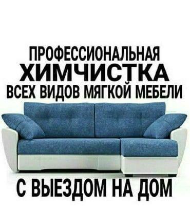 Профессиональная химчистка всех видов мягкой мебели с выездом на дом