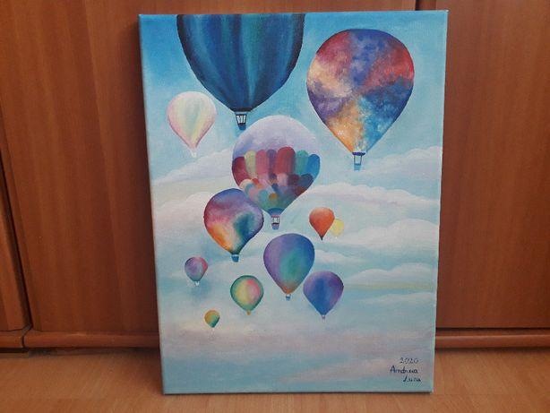 Tabou in acrilic - baloane