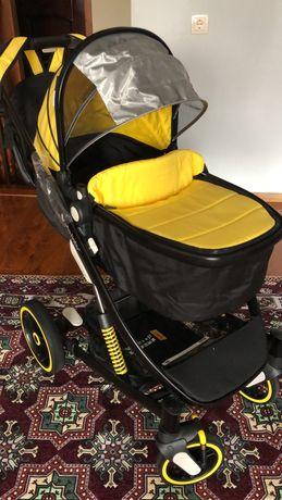 Детская коляска UhaBaby 2в1 трансформер
