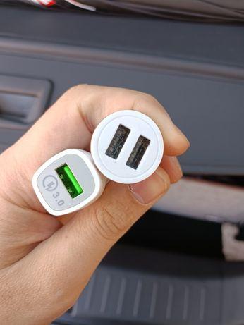 USB входы для прикуривателя
