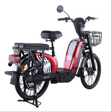 Bicicleta Electrica Z-Tech ZT-01 RED 2021, Motor 420W, 48V, 13A NOU