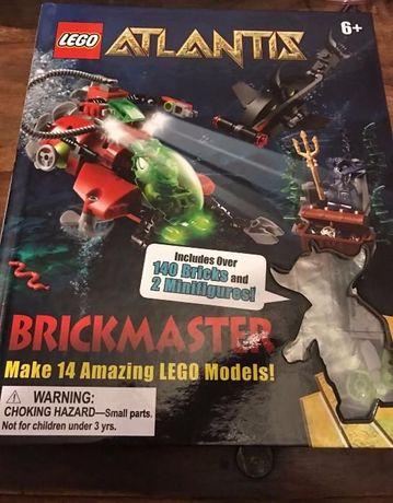 Книги с Лего : LEGO Atlantis, Pirates и Castle с книга