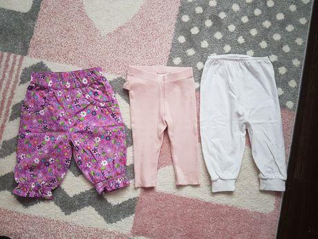 Set 3 pantaloni nr.62-68