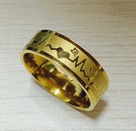 Superb Inel auriu Casatorie, Nunta, Logodna - bataile inimii + saculet