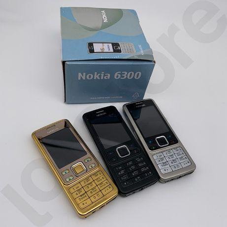 ДОСТАВКА Телефоны оригинальные 6300 nokia, черный, золотистый Шымкент