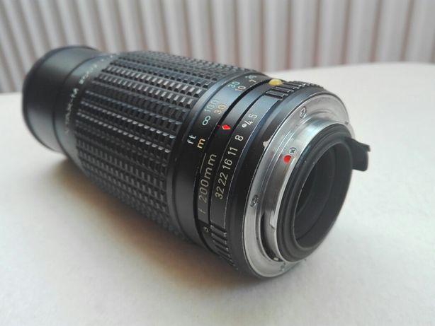 Obiectiv Pentax-M 80-200 f4.5 Zoom