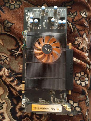 Видеокарта 1gb 256bit zotac 9600