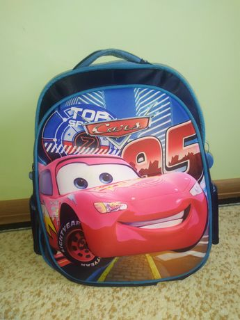 Рюкзак тачки  школьный