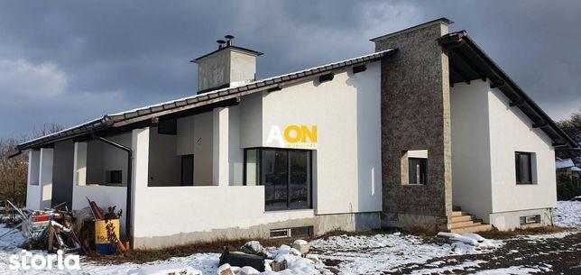 Casa 4 camere + demsiol, 688 mp teren, toate utilitatile, langa padure