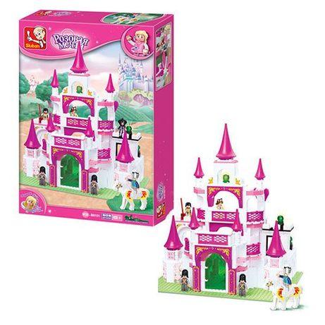Конструктор Замок принцессы 508 дет. бесплатная доставка.