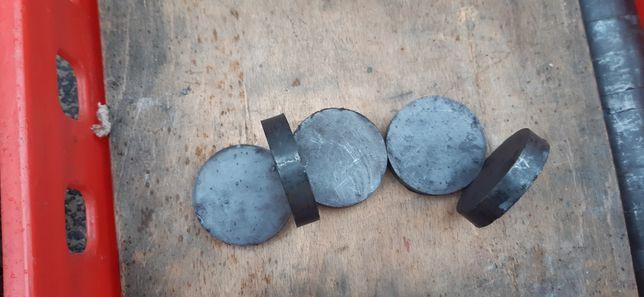 Magneti rotunzi felii 1 cm grosime 6 cm diametru
