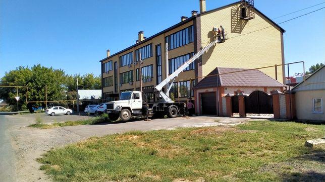 Услуги автовышки АГП 18 метров