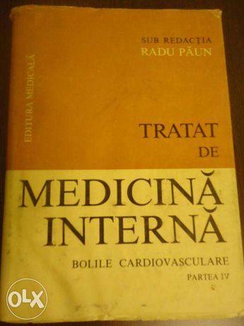 Tratat de medicina interna, R. Paun, vol IV, impecabil