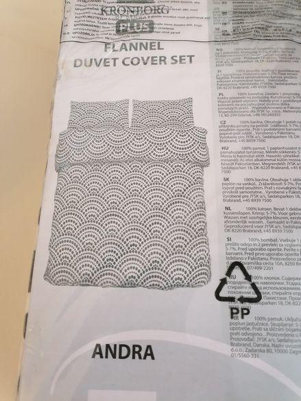 Комплект бархетни чаршафи (плик и калъфи за възглавници)
