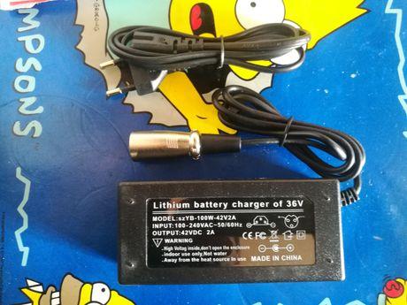 Încărcător bicicletă electrică 36V