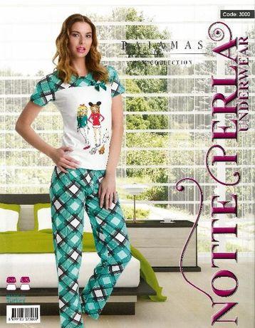 Дамска пижама от 2 части - 100% памук отлично качество 10 лв