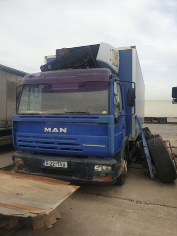 Camion man steyr frigorific