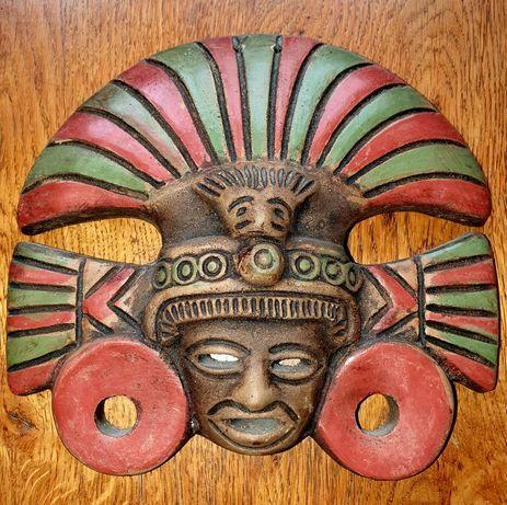 Mască Africa, ceramica.