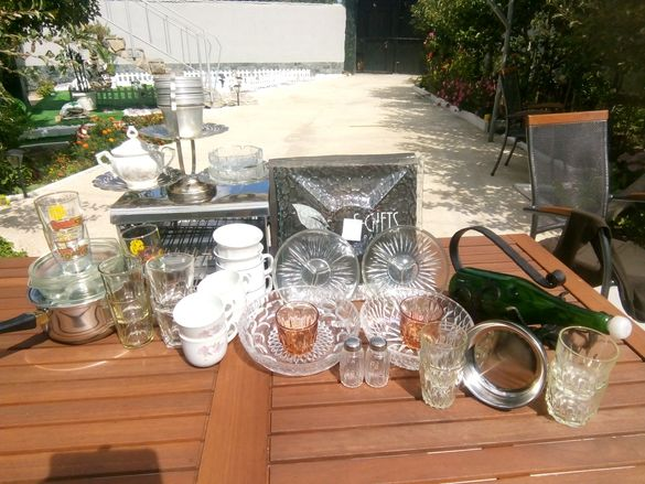 Чаши за ракия,вино,кафе,посуда.