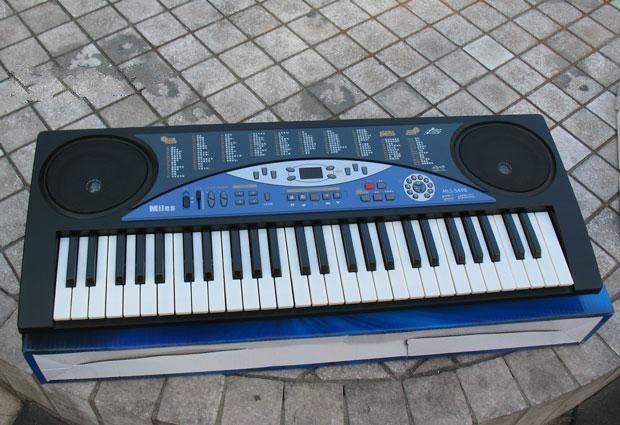 Orga Electronica 54 Clape Afisaj , 10 melodii demo