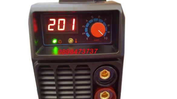 Eлектрожен MMA200 MINI-BLUE с дигитален дисплей