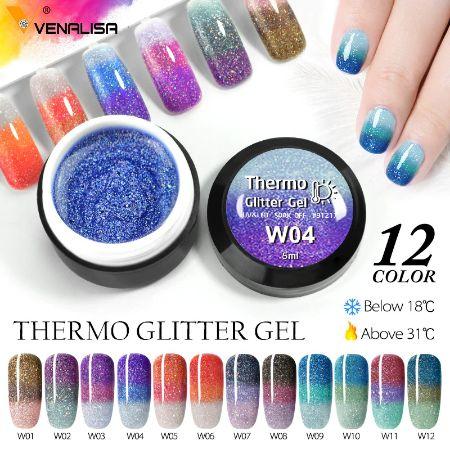 Venalisa Uv&Led трицветна термо гел боичка