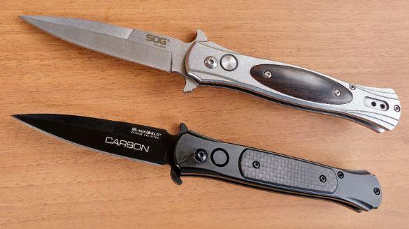 Автоматичен нож SOG NKSOG016 / Blackfield Carbon