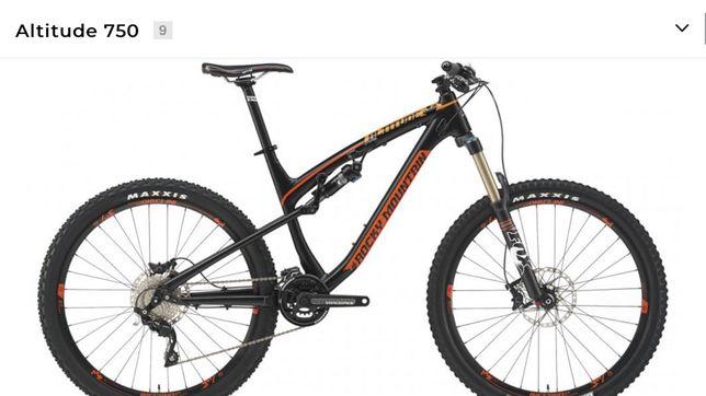 Bike rocky mountain altitude 750