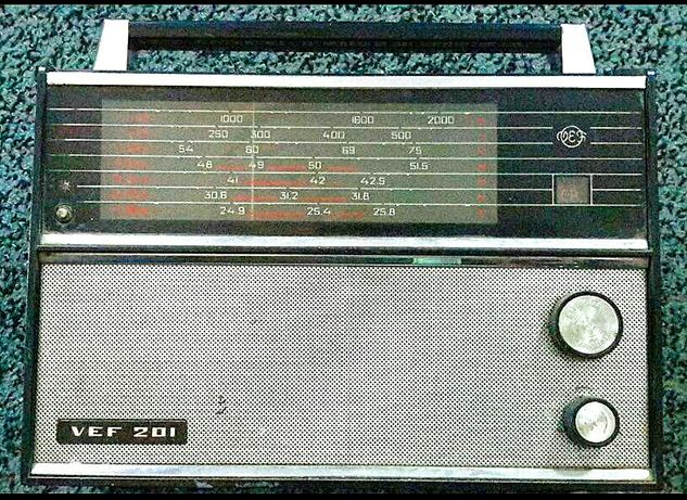 Ретро радиоприемник