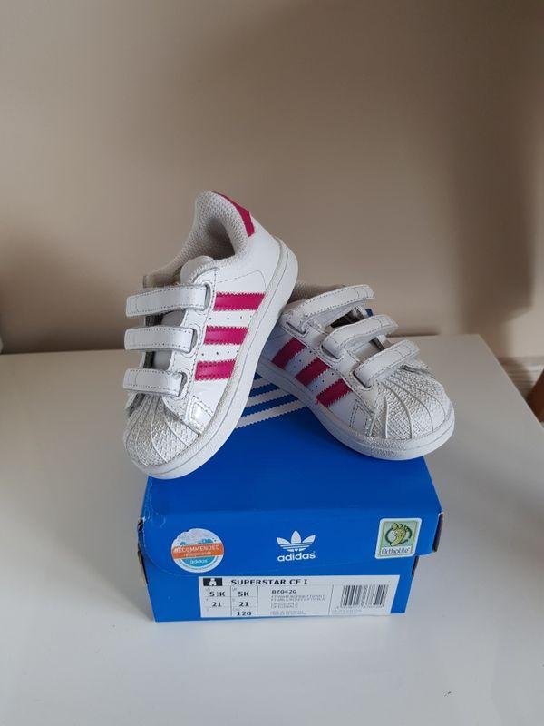 Детски обувки Adidas Superstar CF I - 21 номер гр. Кърджали - image 1