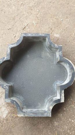 Форма для плиток, калып резиновый