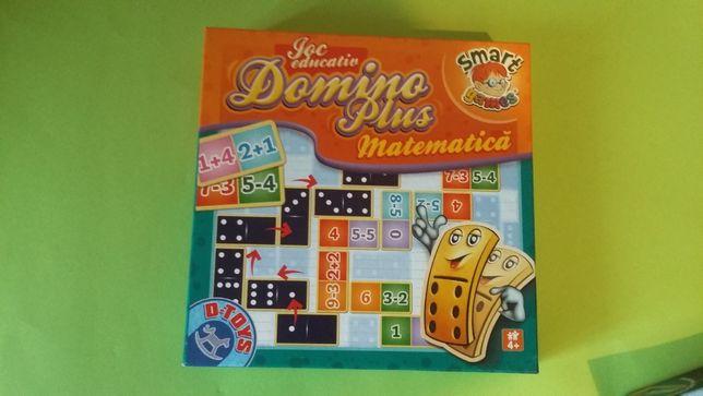 Jocuri : Domino plus matematica, Construieste omida, Roata olarului