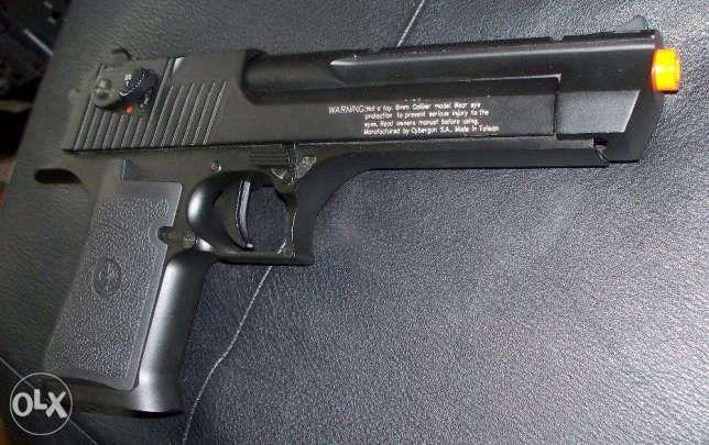 Pistol F. PUTERNIC COLT cu aer comprimat colt 4j AIRSOFT co2 (NOU)Gaz