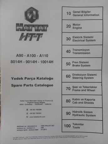 Ръководство за резервни части и експлоатация за трактори ХАТАТ