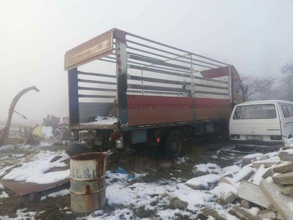 камион щаер брезент