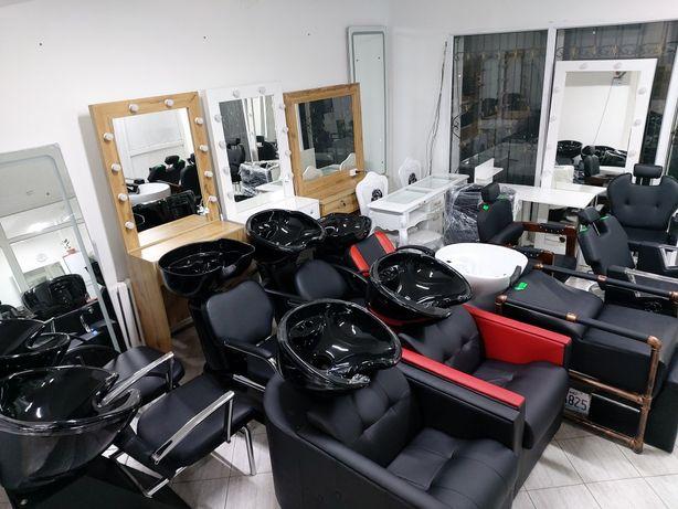 Кресло,мойка парикмахерское зеркало