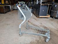 Платформена количка за магазин