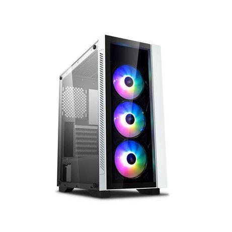 Компьютерный корпус Deepcool MATREXX 55 V3 ADD-RGB WH 3F без БП