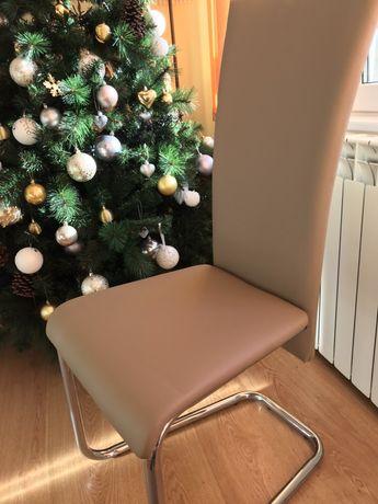 4 scaune tip balansoar Lemet - CA NOI ( retapițate )