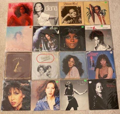 Vinil/Viniluri LP Daiana Ross/ Jennifer Rush/ Chris de Burgh etc