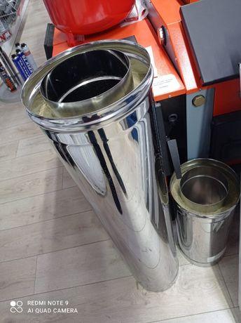 Дымоход (Сэндвич труба) 150-210мм нержавейка и оцинковка